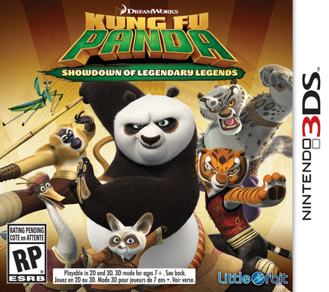 Kung Fu Panda: Showdown of Legendary Legends For 3DS (Physical Cartridge)