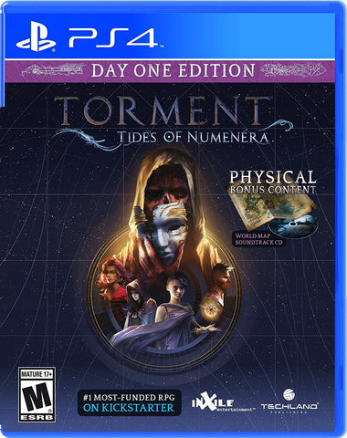 Torment: Tides Of Numenera For PlayStation 4 (Physical Disc)
