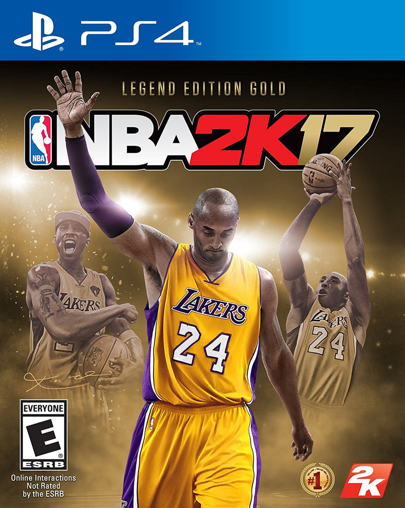 NBA 2K17 – Legends Gold Edition For PlayStation 4 (Physical Disc)