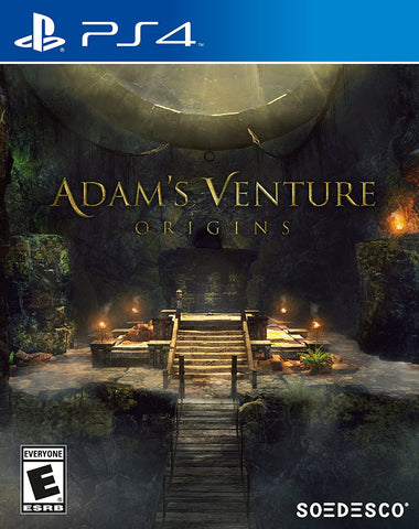 Adam's Venture Origins For PlayStation 4 (Physical Disc)