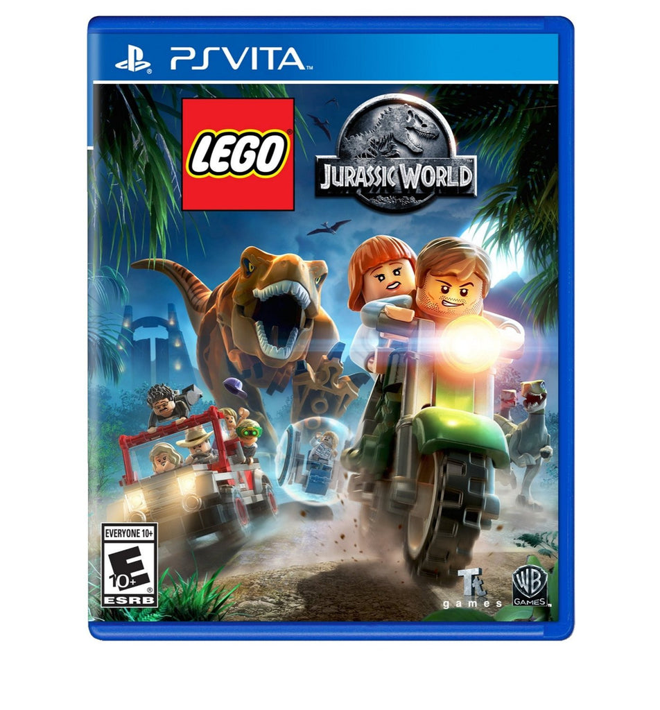 LEGO Jurassic World For PSVita (Physical Cartridge)