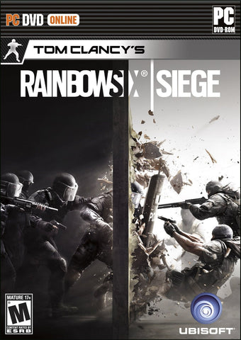 Tom Clancy's Rainbow Six Siege Windows PC Game Download Uplay CD-Key Global