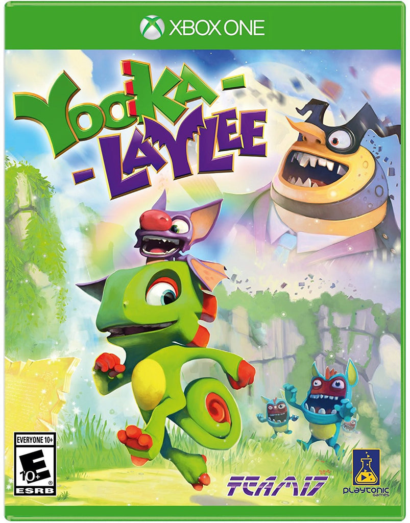 Yooka-Laylee Pre-Order For Xbox One (Physical Disc)