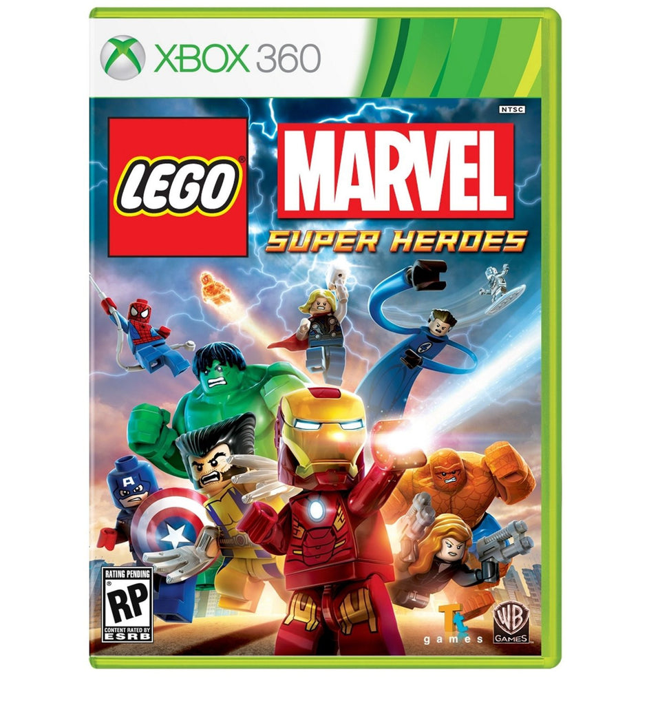 LEGO: Marvel Super Heroes For Xbox 360 (Physical Disc)