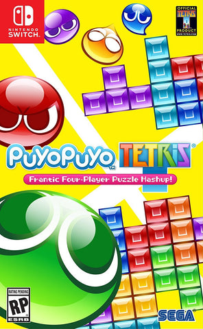 Puyo Puyo Tetris Pre-Order For Switch (Physical Cartridge)