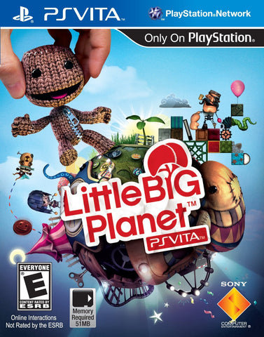 LittleBigPlanet For PSVita (Physical Cartridge)