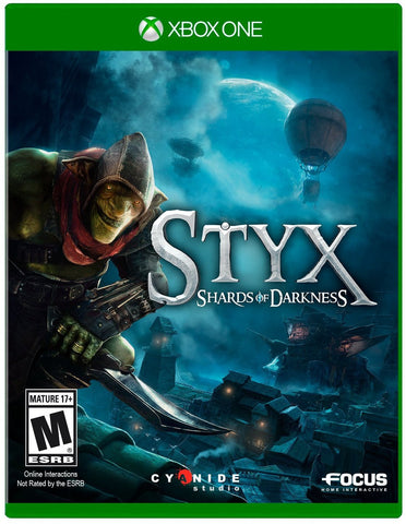 Styx: Shard of Darkness Pre-Order For Xbox One (Physical Disc)