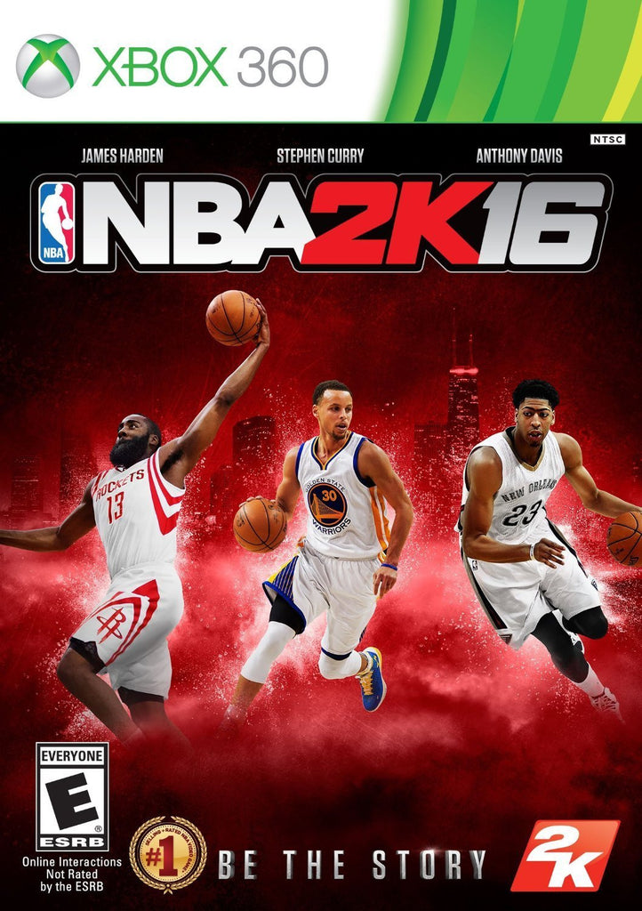 NBA 2K16 For Xbox 360 (Physical Disc)