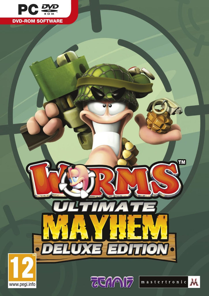 Worms Ultimate Mayhem - Deluxe Edition Windows PC Game Download Steam CD-Key Global