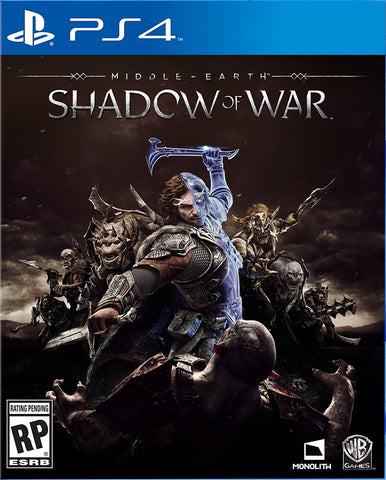 Middle-Earth: Shadow Of War Standard Edition Pre-Order For PlayStation 4 (Physical Disc)