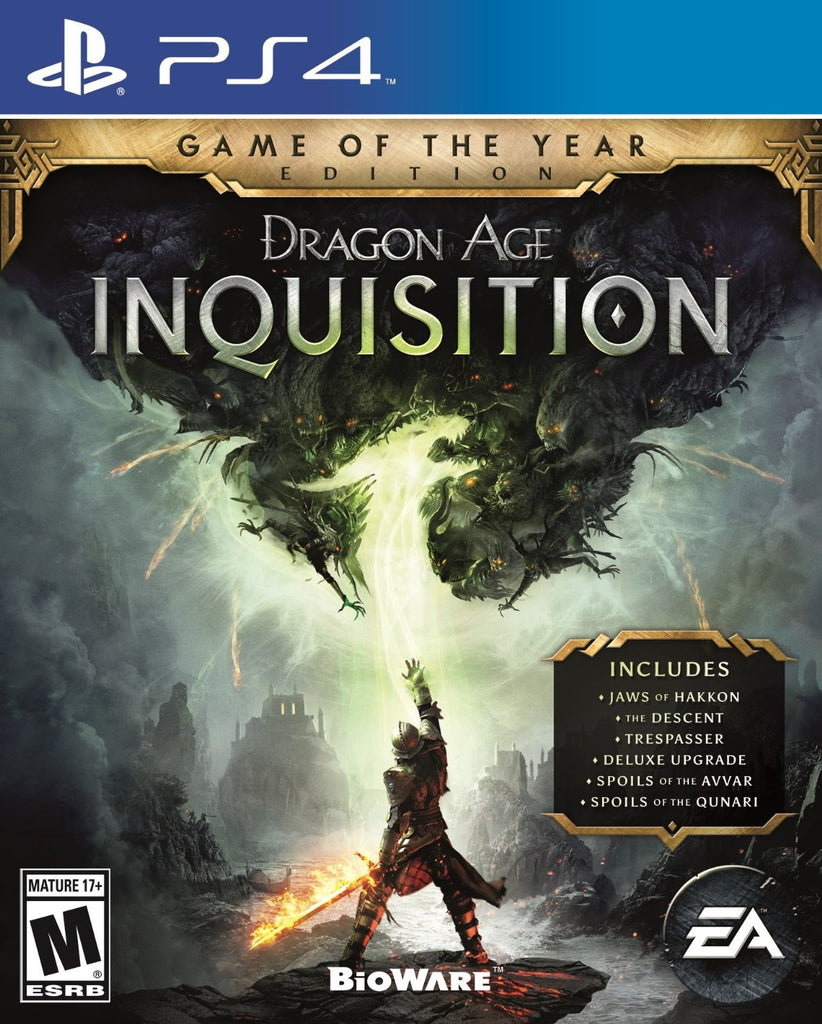 Dragon Age Inquisition - Game of the Year Edition For PlayStation 4 (Physical Disc)