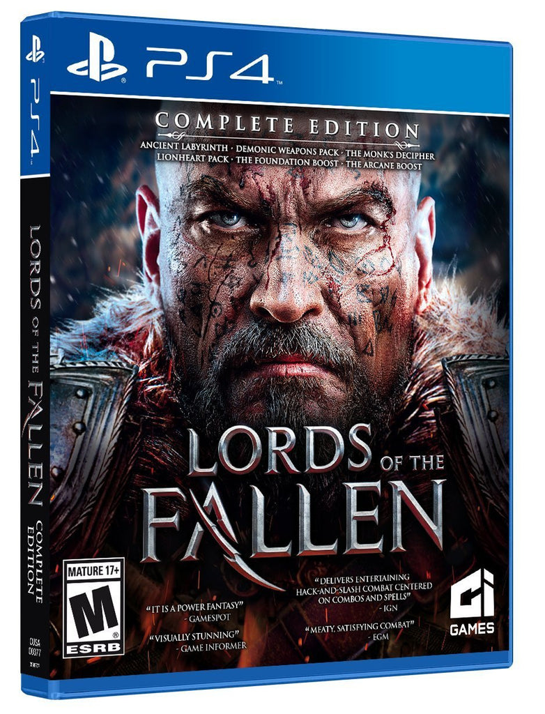Lords of the Fallen Complete Edition For PlayStation 4 (Physical Disc)