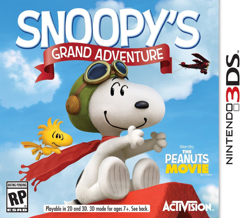 Snoopy's Grand Adventure For 3DS (Physical Cartridge)
