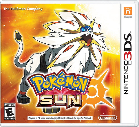 Pokemon Sun For 3DS (Physical Cartridge)
