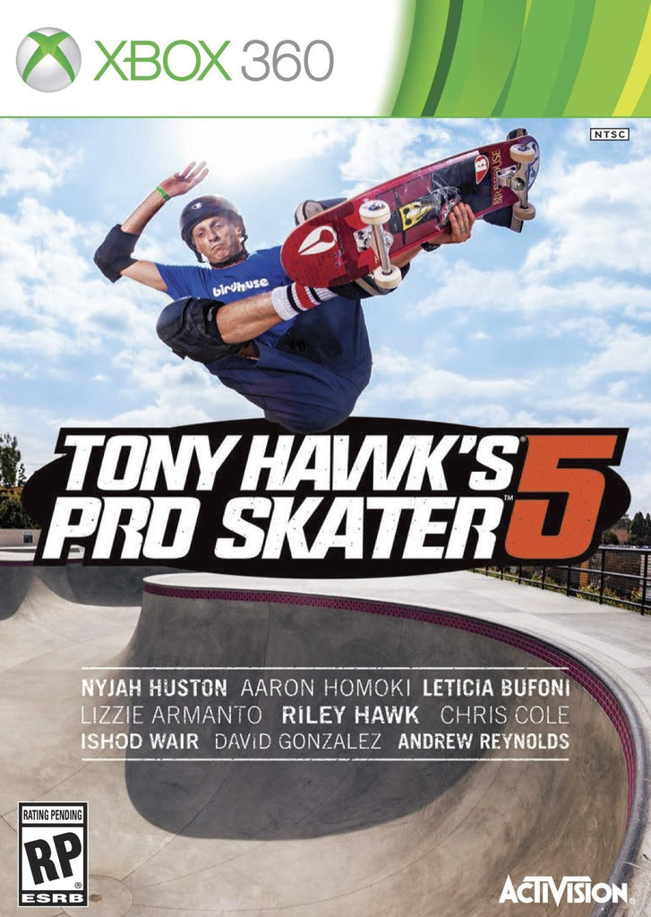 Tony Hawk's Pro Skater 5 For Xbox 360 (Physical Disc)