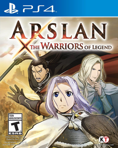Arslan: The Warriors of Legend For PlayStation 4 (Physical Disc)