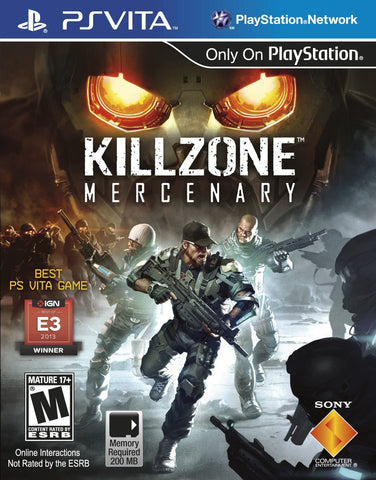 Killzone Mercenary For PSVita (Physical Cartridge)