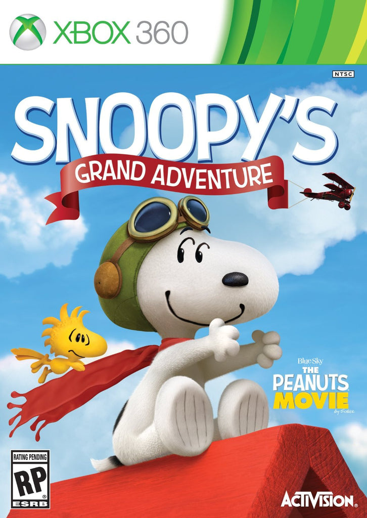 Snoopy's Grand Adventure For Xbox 360 (Physical Disc)