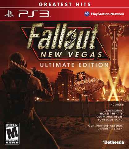 Fallout: New Vegas - Ultimate Edition For PlayStation 3 (Physical Disc)