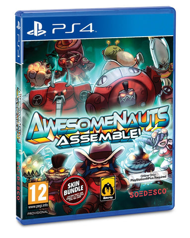 Awesomenauts Assemble! For PlayStation 4 (Physical Disc)