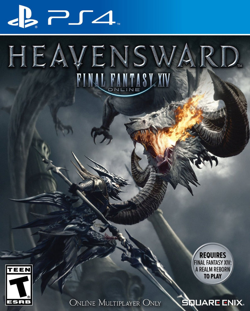 FINAL FANTASY XIV: Heavensward For PlayStation 4 (Physical Disc)