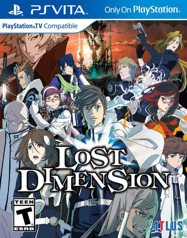 Lost Dimension For PSVita (Physical Cartridge)