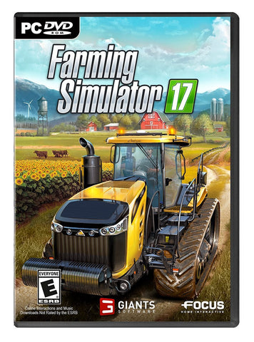Farming Simulator 17 For PC (Physical Disc)