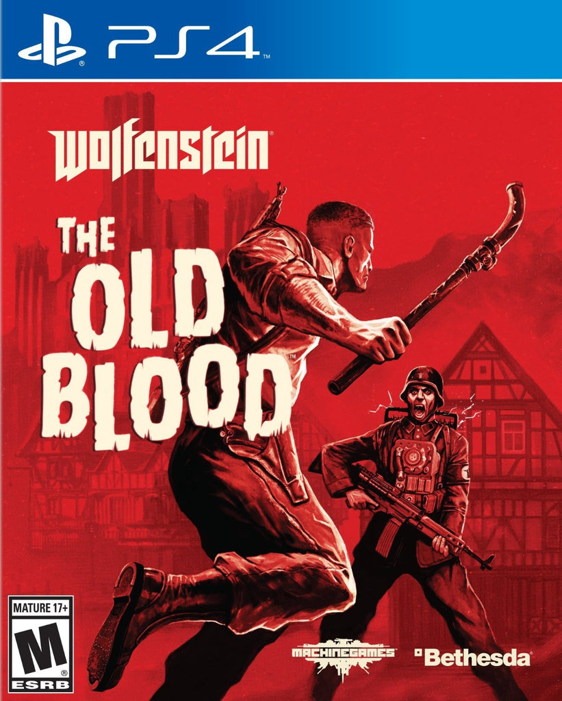 Wolfenstein: The Old Blood For PlayStation 4 (Physical Disc)
