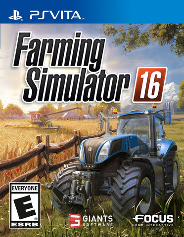 Farming Simulator 16 For PSVita (Physical Cartridge)