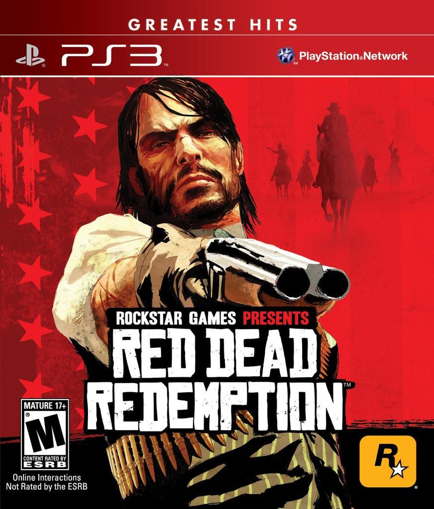 Red Dead Redemption For PlayStation 3 (Physical Disc)