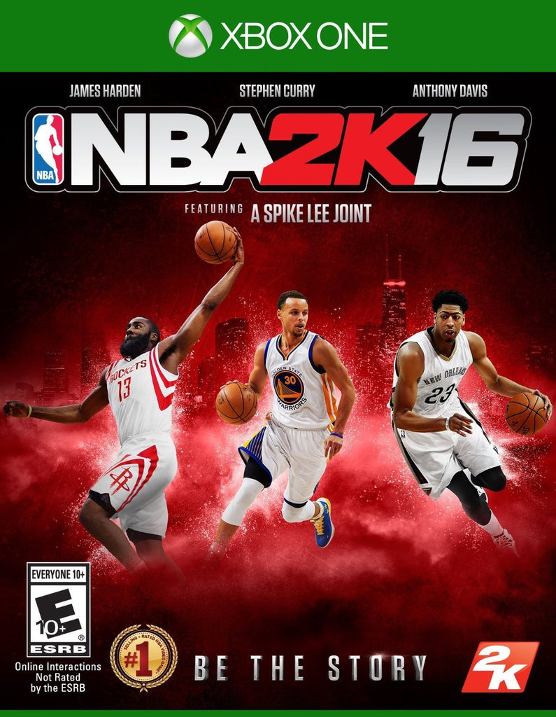 NBA 2K16 For Xbox One (Physical Disc)