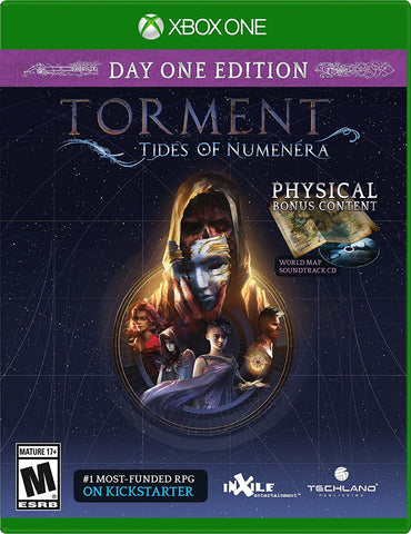 Torment: Tides Of Numenera For Xbox One (Physical Disc)
