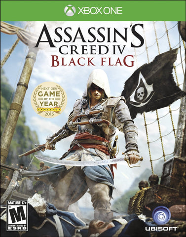 Assassin's Creed IV Black Flag For Xbox One (Physical Disc)