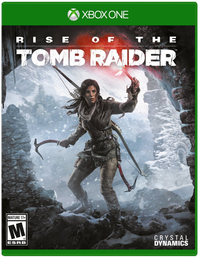 Rise of the Tomb Raider For Xbox One (Physical Disc)