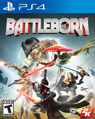 Battleborn For PlayStation 4 (Physical Disc)