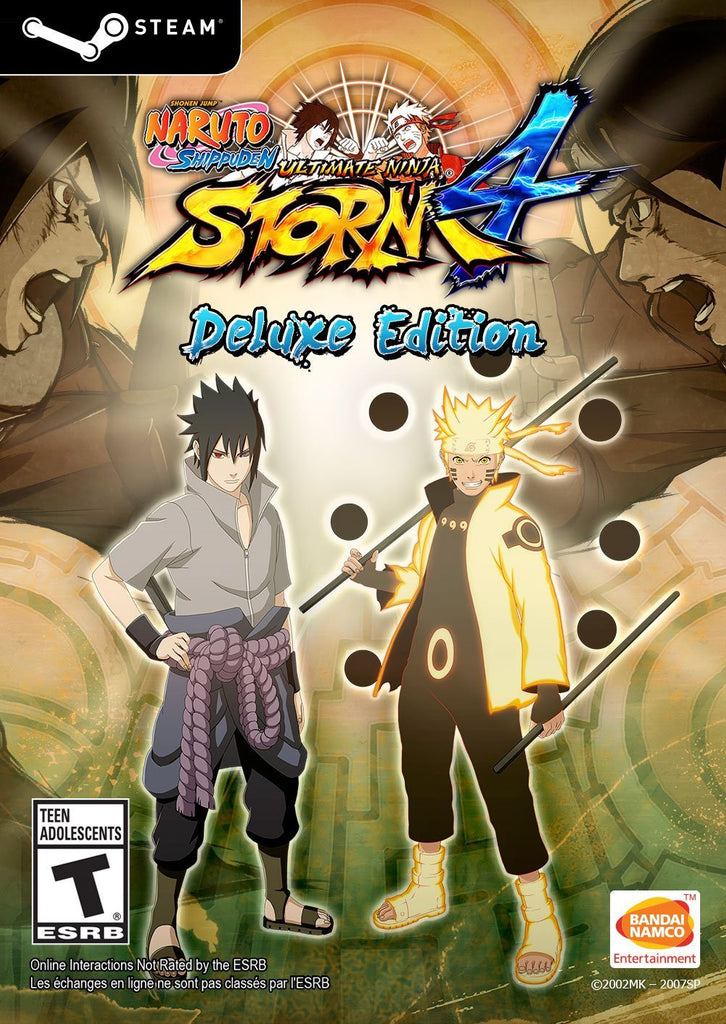 NARUTO SHIPPUDEN: Ultimate Ninja STORM 4 Deluxe Edition Windows PC Game Download Steam CD-Key Global