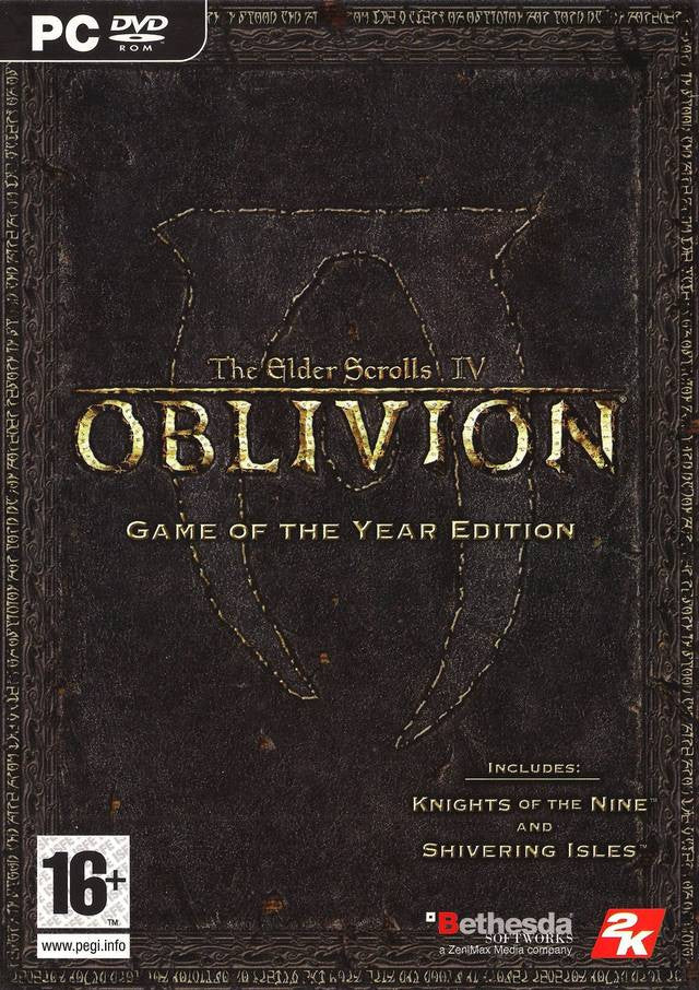 The Elder Scrolls IV: Oblivion Game of the Year Edition Windows PC Game Download Steam CD-Key Global