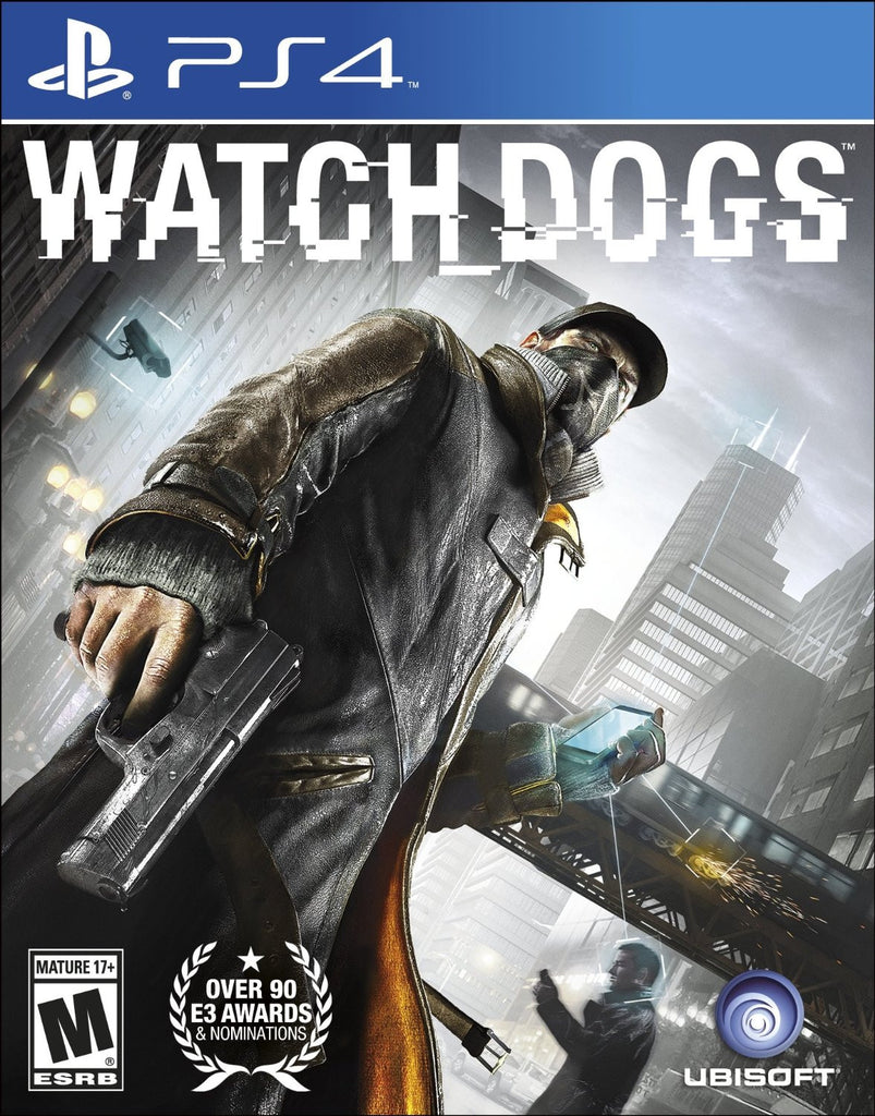 Watch Dogs For PlayStation 4 (Physical Disc)