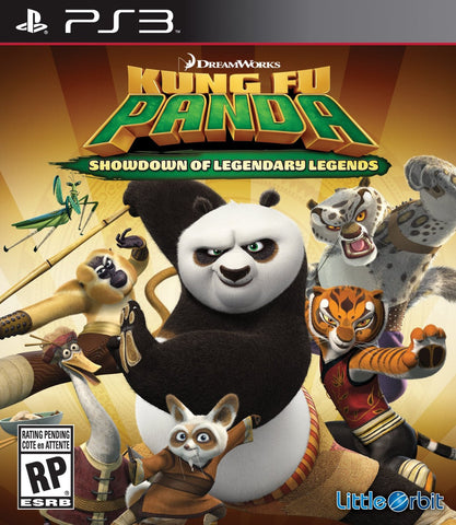 Kung Fu Panda: Showdown of Legendary Legends For PlayStation 3 (Physical Disc)