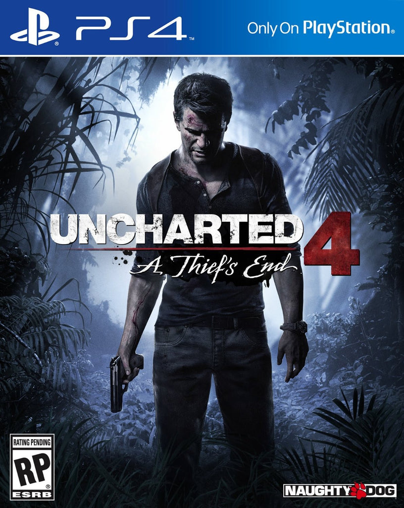 Uncharted 4: A Thief's End For PlayStation 4 (Physical Disc)