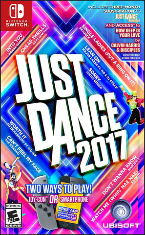 Just Dance 2017 For Switch (Physical Cartridge)