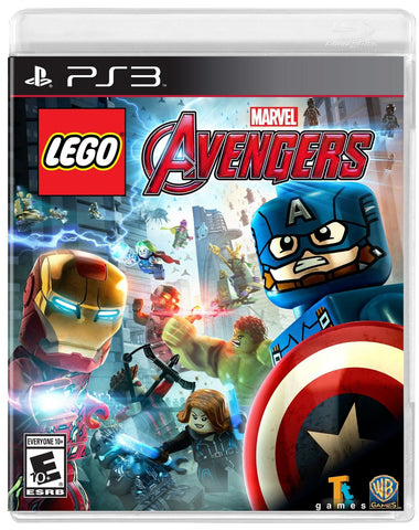LEGO MARVEL's Avengers For PlayStation 3 (Physical Disc)