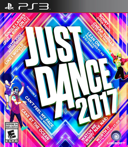 Just Dance 2017 For PlayStation 3 (Physical Disc)