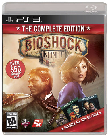 Bioshock Infinite: The Complete Edition For PlayStation 3 (Physical Disc)
