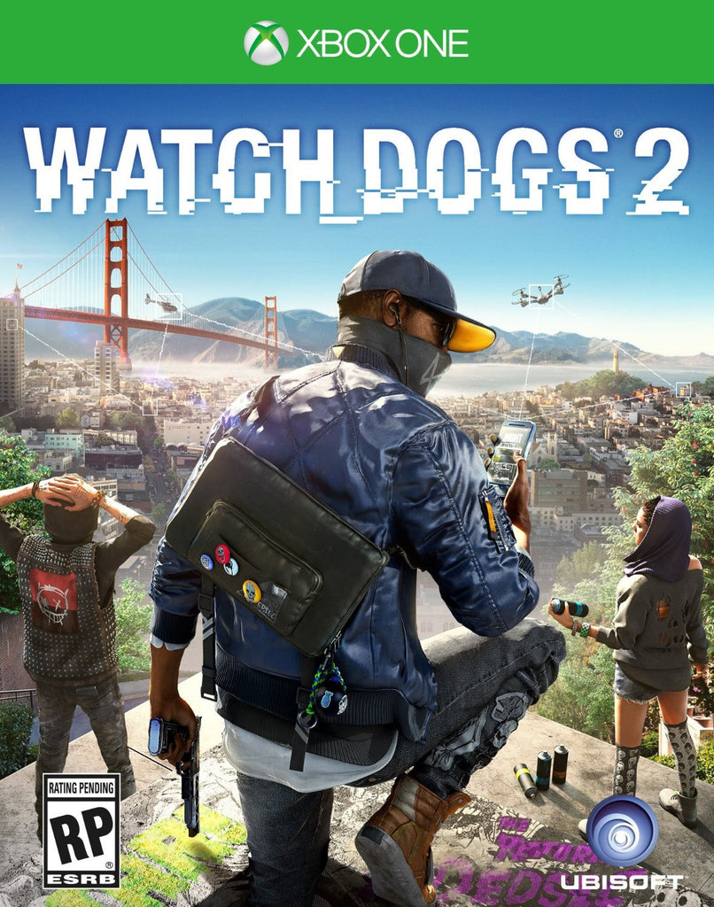 Watch Dogs 2 For Xbox One (Physical Disc)