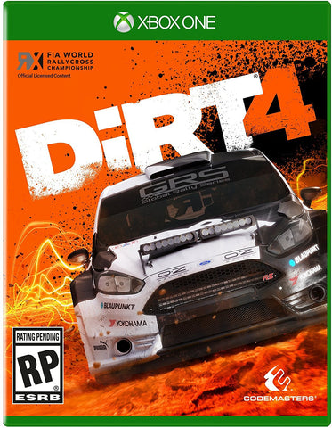 DiRT 4 Pre-Order For Xbox One (Physical Disc)