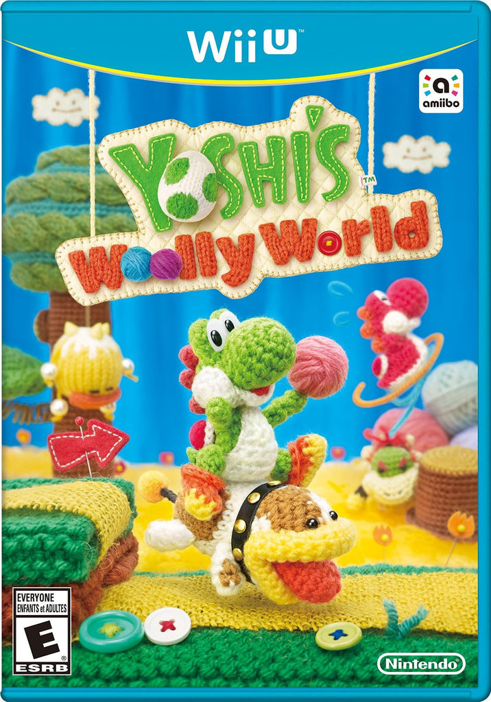 Yoshi's Woolly World For Wii U (Physical Disc)