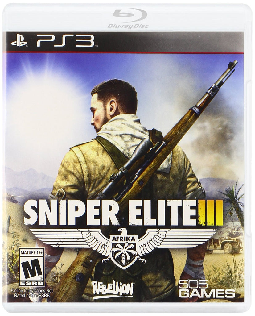 Sniper Elite III For PlayStation 3 (Physical Disc)