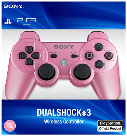 PlayStation 3 Dualshock 3 Wireless Controller - Candy Pink