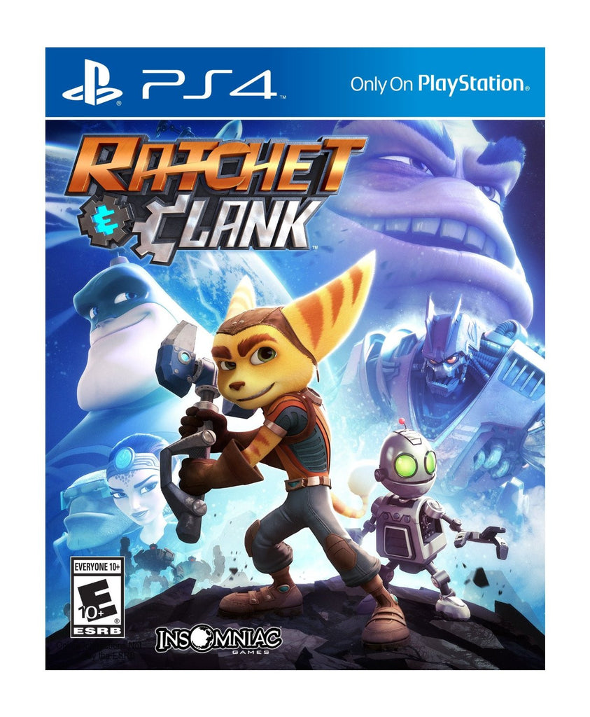 Ratchet & Clank For PlayStation 4 (Physical Disc)